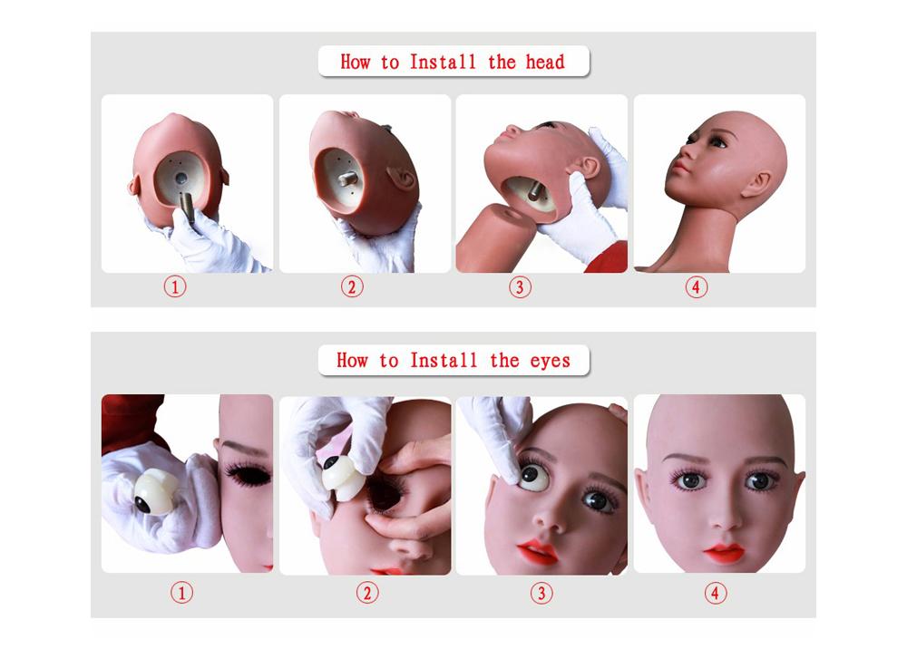 H804e56754ad34140b45853df57334bed1 Muñecas sexuales realistas para adultos, juguete erótico de silicona, de alta calidad, Con pechos sexys, para mamada y sexo Anal