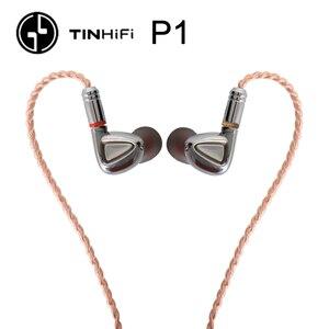 Image 2 - TINHiFi P1 écouteur Hifi pas de micro étain audio P1 avec câble MMCX écouteur