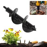 1 sztuk ziemi Auger Hole Digger narzędzia maszyna do sadzenia wiertła ogrodzenia Borer benzyna Post Hole Digger narzędzie ogrodowe w Świdry od Narzędzia na