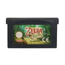 Cartucho para consola Nintendo GBA, The Legend of Zeld The Minish Cap ENG/FRA/DEU/ESP/ITA, versión EU