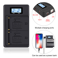 Battery-Charger SONY NP-F960 F970 LCD for F930/F950/F770/.. Digital