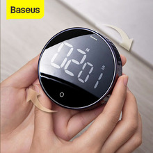 Digital-Timer Alarm-Clock Stopwatch Led-Counter Cooking-Shower Study Kitchen Baseus Magnetic