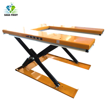 Stationary lift platform hydrauilc scissor lift table with CE