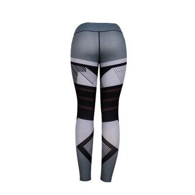 BEFORW 2020 Fashion Polyester Digital Printing Leggings Plus Size Women Sexy Workout Black Leggings Camouflage Camo Pants 8