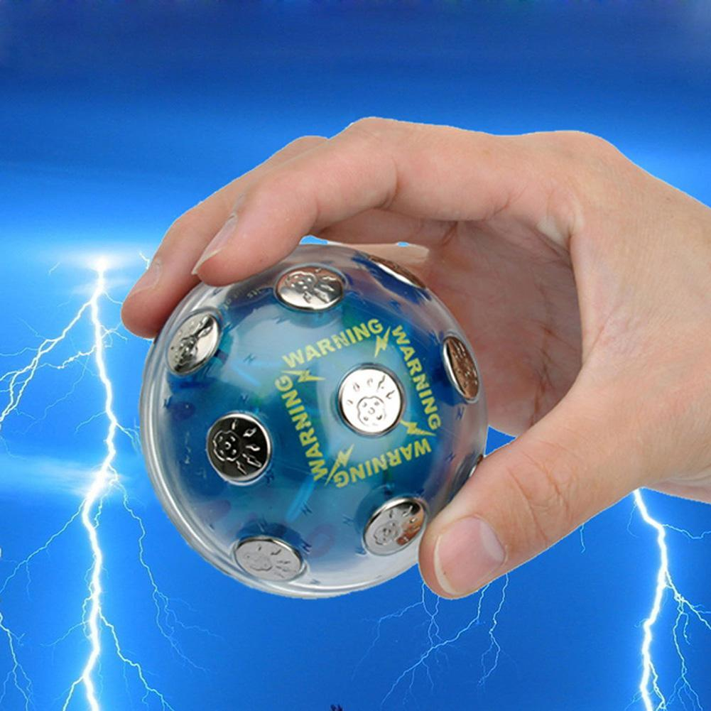 None Teenager Adult Mini Electric Shocking Ball Creative Entertainment Funny And Prank Tool Gift