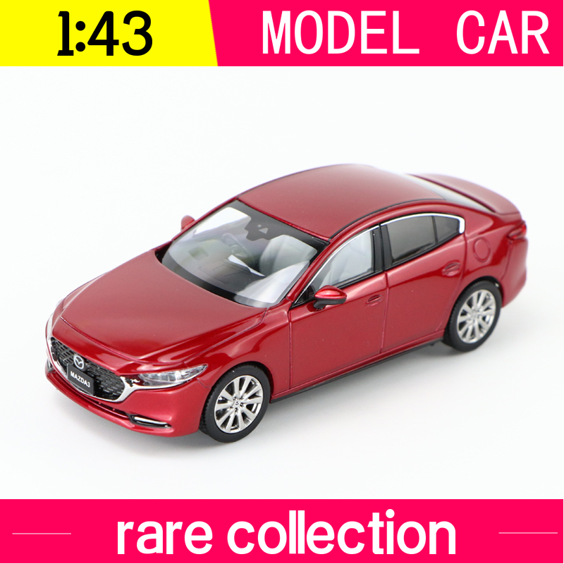 1:43 Hi-Story MAZDA 3 Axela FASTBACK Handmade Diecast Collectible Alloy Car Model  Red  Deep Blue