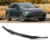 3D Carbon Fiber Rear Trunk Spoiler Wing Fits for A4 2017  car accessories rear spoiler|Spoilers & Wings| |  -