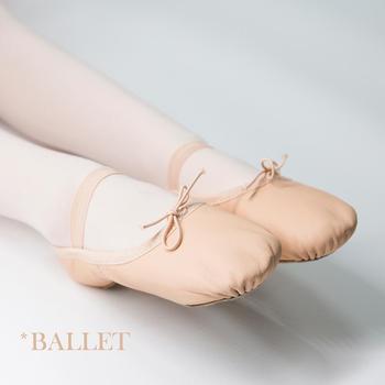 solen Ballet Shoes For Girls-Genuine Leather Dance Shoes Professional Soft Cow Suede Full Solen Girls Toddler Children Ballet Slippers
