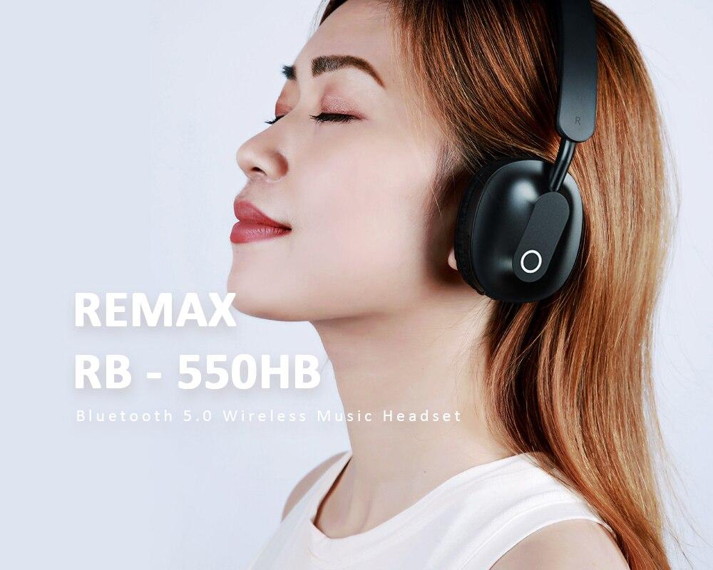 REMAX RB-550HB Bluetooth 5.0 Wireless Headphones 4