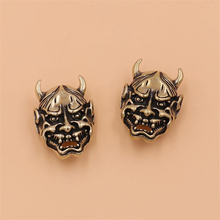 5 pcs Solid brass goth devil Monster conchos screwback rivets leather craft bag wallet garment decoration