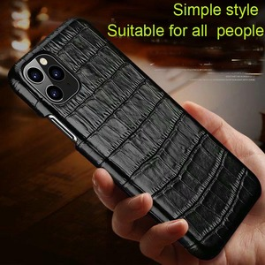 Image 3 - Genuine Leather Case For Samsung Galaxy S20 Ultra Plus Cover Luxury Alligator Funda Case For Samsung S20 Plus Ultra  Coque Case