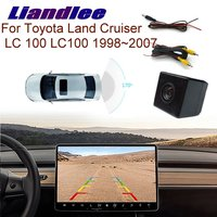 Liandlee Dedicated Car Rear View back Camera For Toyota Land Cruiser LC 100 LC100 1998~2007 Night Vision HD Reversing image CAM