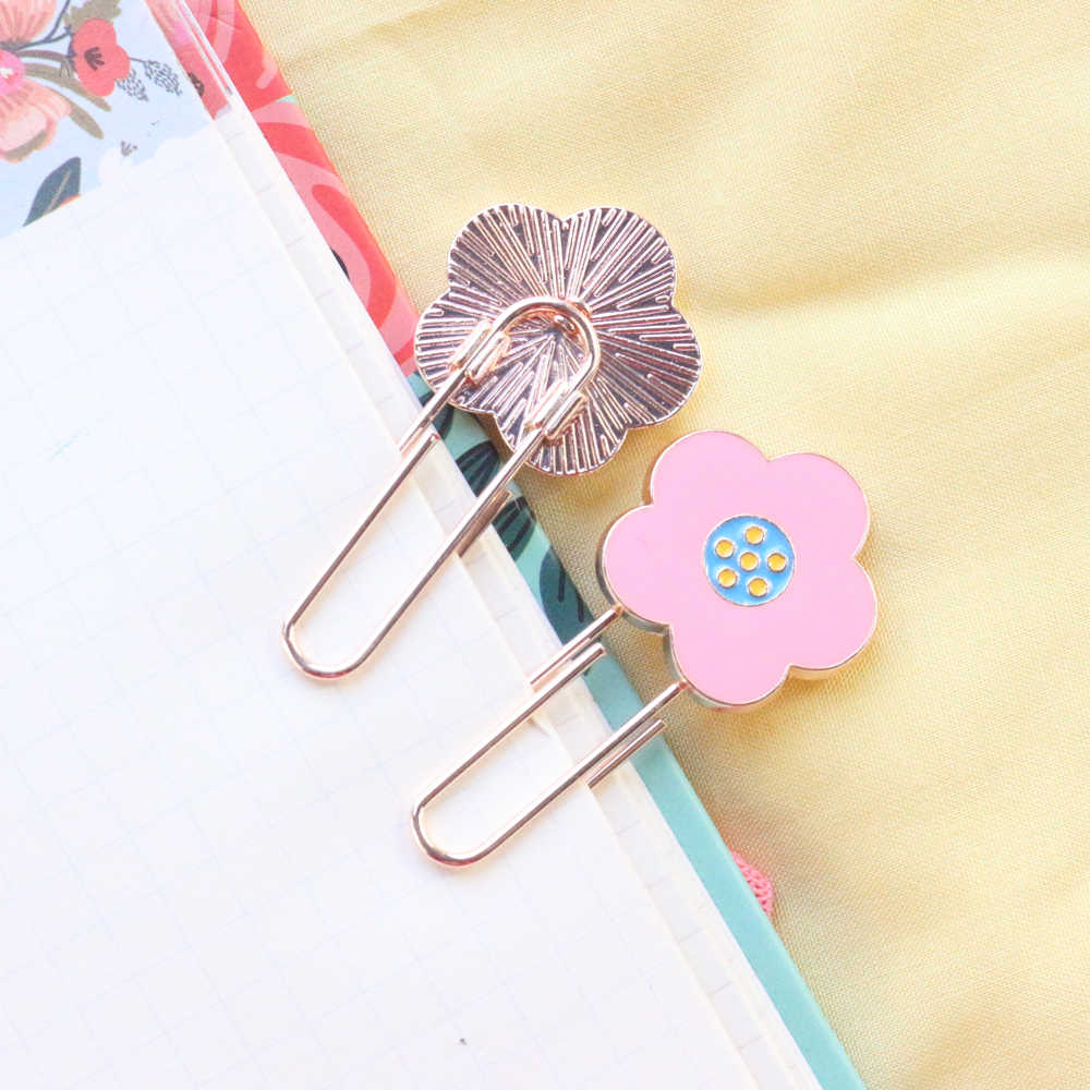 15pcs//lot Assorted Paper Clips Photo Memo Bookmarks Office School Stationery