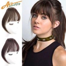 Allaosify зажим для волос челка синтетическая воздушная невидимое