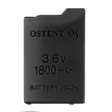 OSTENT High Capacity Quality Real 1800mAh 3.6V Lithium Ion Rechargeable Battery Pack Replacement for Sony PSP 1000 PSP-110 цена и фото