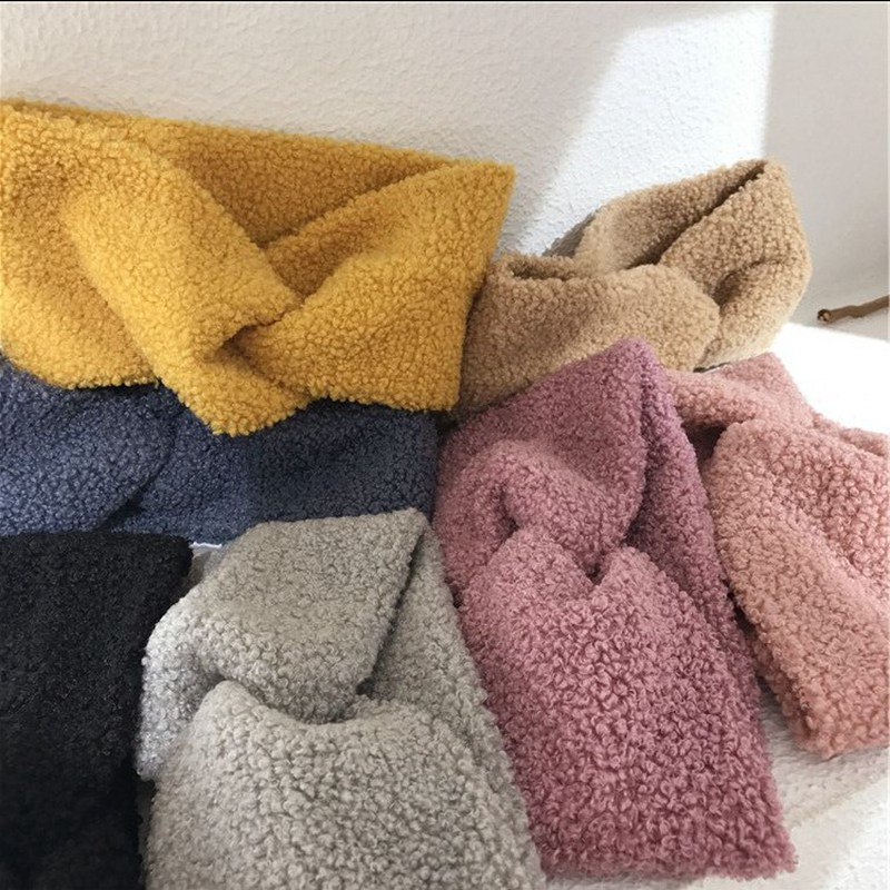 MENGJIQIAO New Arrive Warmer Knitted Knot Headband Weave Solid Color Turban Hairband For Women Twist Elastic Hair Accessories