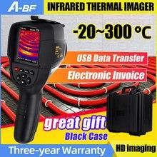 A-BF RX-500 HT-18 Imageur Thermique Infrarouge Vue Thermomètre Portatif USB Caméra D'imagerie Thermique de Mur De Plancher De Tuyau de Chauffage Testeur