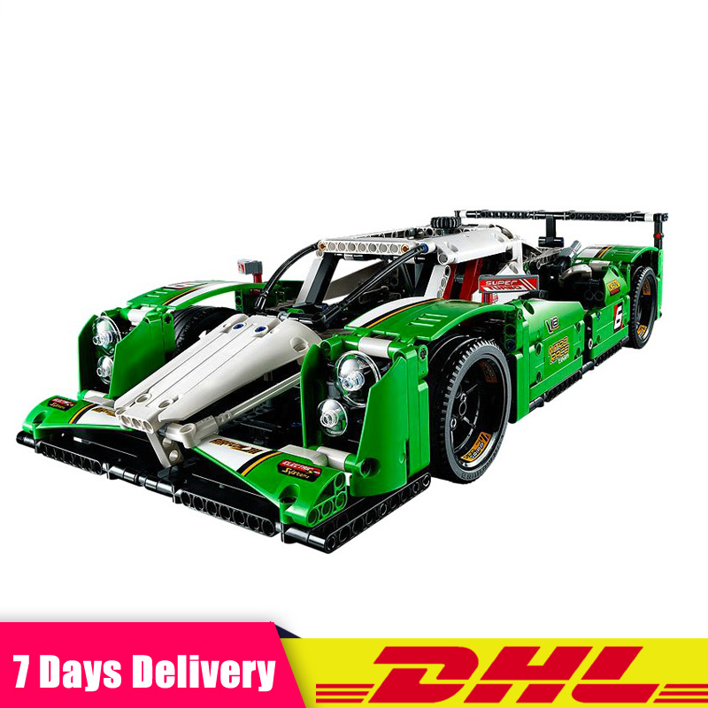 IN Stock 20003 1249PCS Technic The 24 hours Race Car Building Assembled Blocks Bricks Toy Compatible <font><b>LegoINGlys</b></font> <font><b>42039</b></font> image