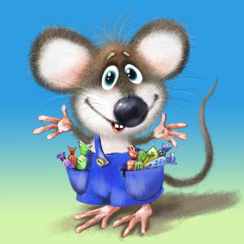 открытка мышка фото фотостудию спб сеновалом