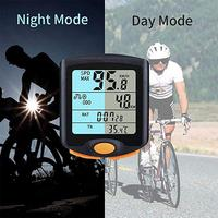 Universal Wireless Cycling Bike Computer Waterproof Backlight Odometer Speedometer Practical Bicycle Goods|Bicycle Computer|   -