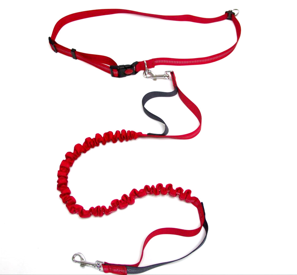 Pet Supplies 3 Article Reflective Running Sling Slip Dog Morning Run Hand Holding Rope With Sports Set