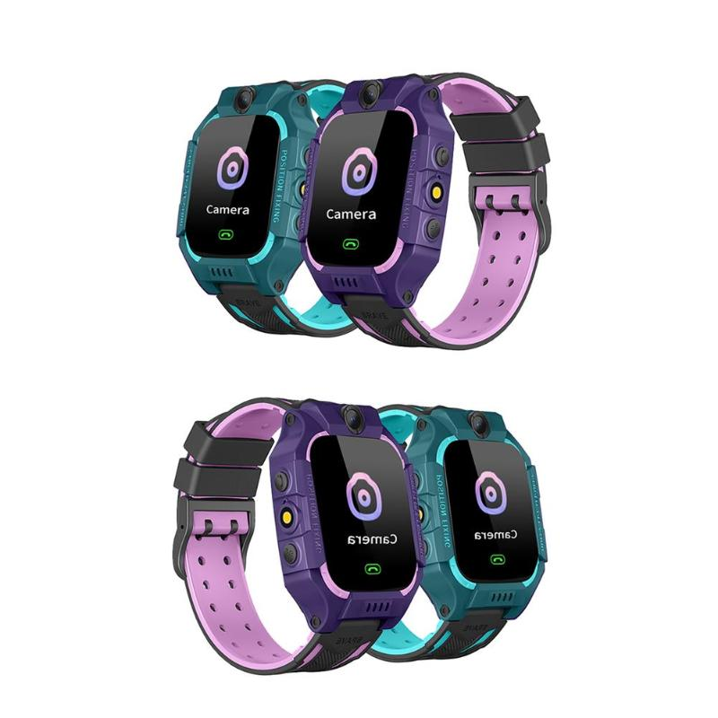 1 Set Children Smart Phone Watch 1.44 Non/Waterproof Dial Call Voice Android IOS Waterproof LBS Smartwatch Kids Positioning