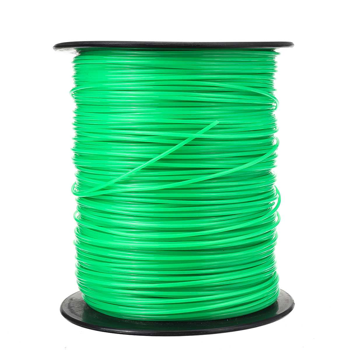 Tools : 2 4mm 370m Mowing Nylon Rope Line Strimmer Brushcutter Trimmer Long Round Roll Round Grass Trimmer Head Nylon Grass Rope Line