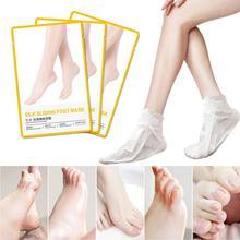 Feet Exfoliating Foot Mask Dead Skin Rejuvenation Foot Mask Callus Gentle Moisturizing Foot Care Peeling Dead Skin Care TSLM1
