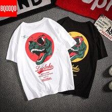 Mens Fashion Tshirt Summer Casual T-shirts Anime Streetwear