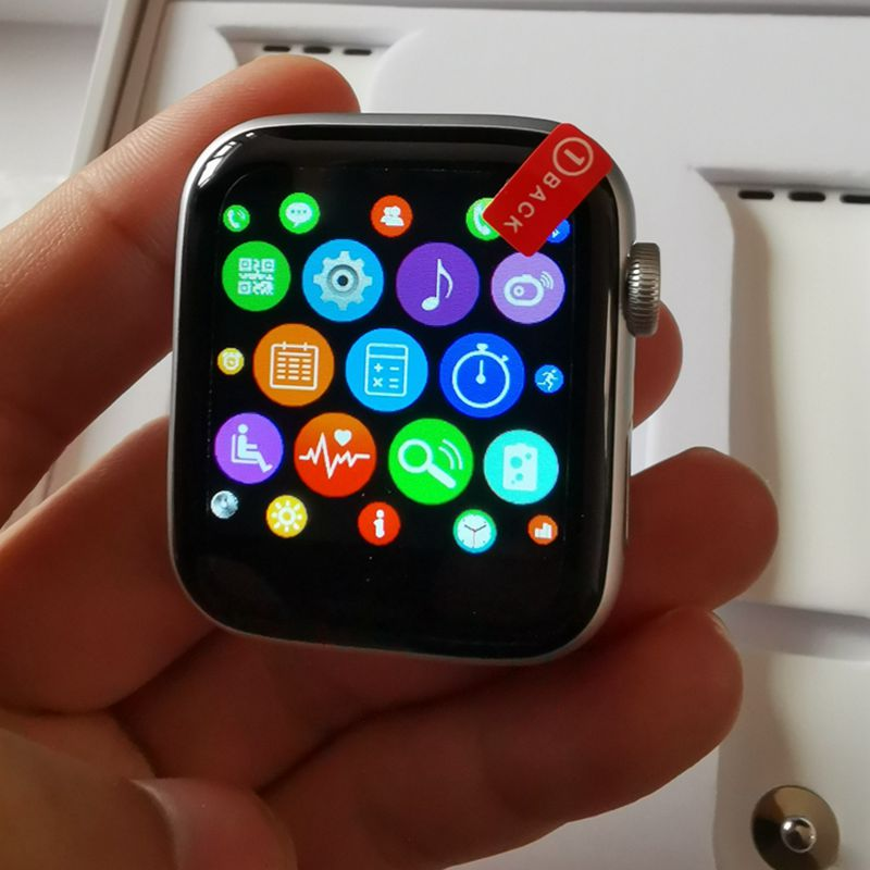 W54 montre intelligente Android 4.4 1.54 écran Bluetooth 4.0 MTK2502C moniteur de fréquence cardiaque Smartwatch hommes appareils portables Pk IWO 8 - 2
