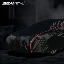 Waterproof Car Covers Outdoor Dustproof Snow UV Protective Auto Goods Exterior Full Cover for Car with Zipper Fit for Sedan SUV