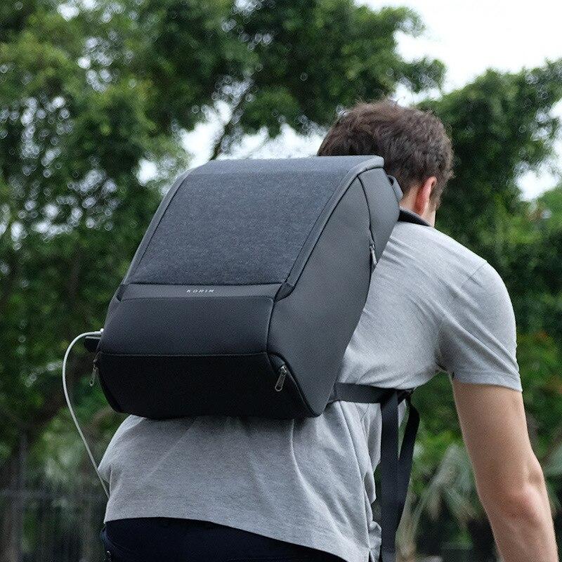 Marke Luxus Männer Rucksack Hohe ende Reise Laptop Rucksack USB Lade Anti diebstahl Business Rucksack Multifunktions Reisetaschen - 6