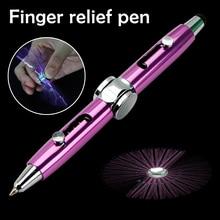 Stylus-Pen Ballpoint-Pens Metal 3-In-1 Hand-Gyroscope Multi-Functional Stress-Relief