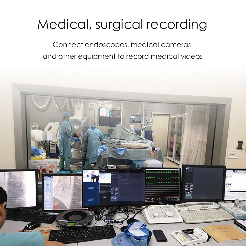 Medical surgical recording