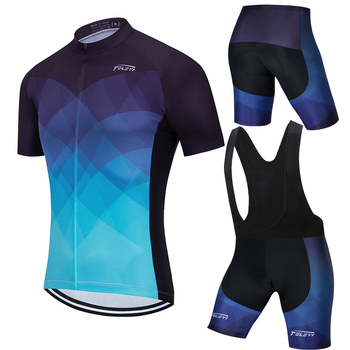 teleyi 100% Polyester Pro Cycling Jersey Set MTB Bicycle Clothes Sportswear Bike Clothing Maillot Ropa Ciclismo Cycling Set bora cycling jersey sportswear super warm winter thermal fleece bicycle clothing mtb coat bike mtb maillot ropa ciclismo k9