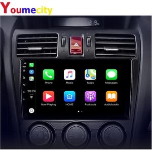 Image 2 - אנדרואיד 9.0 מולטימדיה לרכב עבור סובארו פורסטר אימפרזה WRX 2013 2014 2015 רדיו Rds Gps DVD וידאו IPS BT USB שמונה ליבה