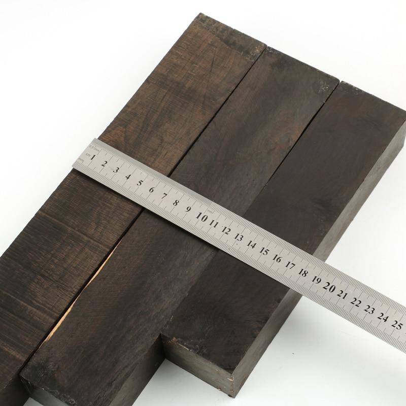 Afrika abanoz Blackwood bıçak sapı malzeme güzel büyük boy torna ahşap boşlukları torna DIY ahşap kereste