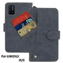 Leather Wallet UMIDIGI A7S Case 6.53