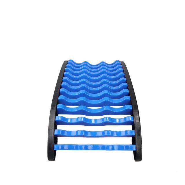 Magic stretcher fitness lumbar support stretch equipment back massager