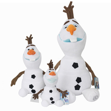 50cm Disney Olaf Frozen Figures Snowman Cartoon Plush 30cm 23cm Toys Doll Plush Kawaii Stuffed Animals for Children Birthday