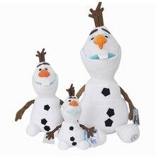 50cm Disney Olaf mrożone dane Snowman Cartoon pluszowe 30cm 23cm zabawki lalki pluszowe Kawaii wypchane zwierzęta dla dzieci urodziny