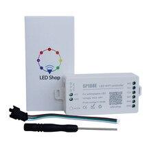 Smart SP108E LED Wifi Controller DC 5V-24V 2048 Pixel 16 Million Colors Wireless APP Controller for Dreamcolor RGB LED Strips