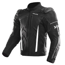 SULAITE Motorcycle Racing Jackets CE Protection Motorcross Rally Road Suit 4 Seasons Breatheable Anti-fall Moto Clothing