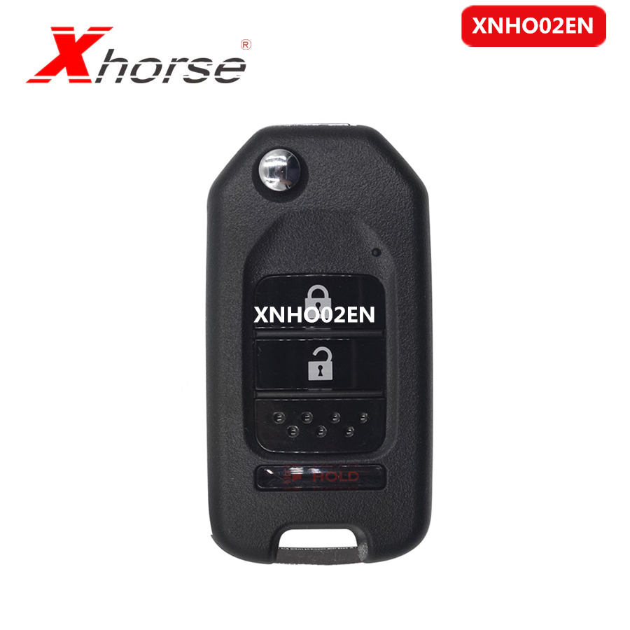 Xhorse VVDI2 XNHO02EN <font><b>Key</b></font> <font><b>Programmer</b></font> <font><b>Remote</b></font> <font><b>Key</b></font> for Honda Style Flip 3 Buttons <font><b>Remotes</b></font> for VVDI <font><b>Key</b></font> Tool 10pcs/lot image
