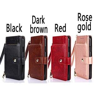 Image 2 - PU Leather Flip Wallet Phone Case For OPPO A9 A91 A8 A5 AX5 AX5S F15 A31 2020 K3 Stand Back Cover Realme X50 3i 3 Pro X C1 C2