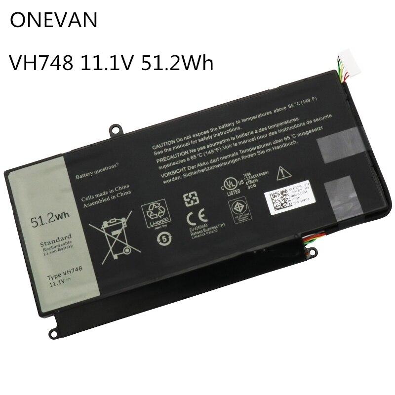 ONEVAN VH748 Laptop Battery For DELL Vostro 5460 5470 5560 14 5480 For Inspiron 14 5439 V5460D-1308 V5460D-1318 5470D-1328