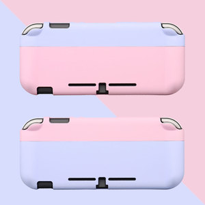Image 1 - Switch Lite Protective Case Bag Magnetic Buckle Grip Case PC Hard Back Cover Shell For Nintendo Switch Lite Game Accessories