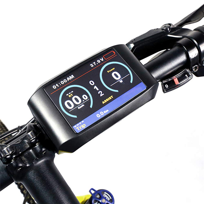 Bicycle Computer Mid Drive Display System Mid Motor Meter Control Panel Bbs01/bbs02/BBSHD 750C Meter Bicycle Display Computer