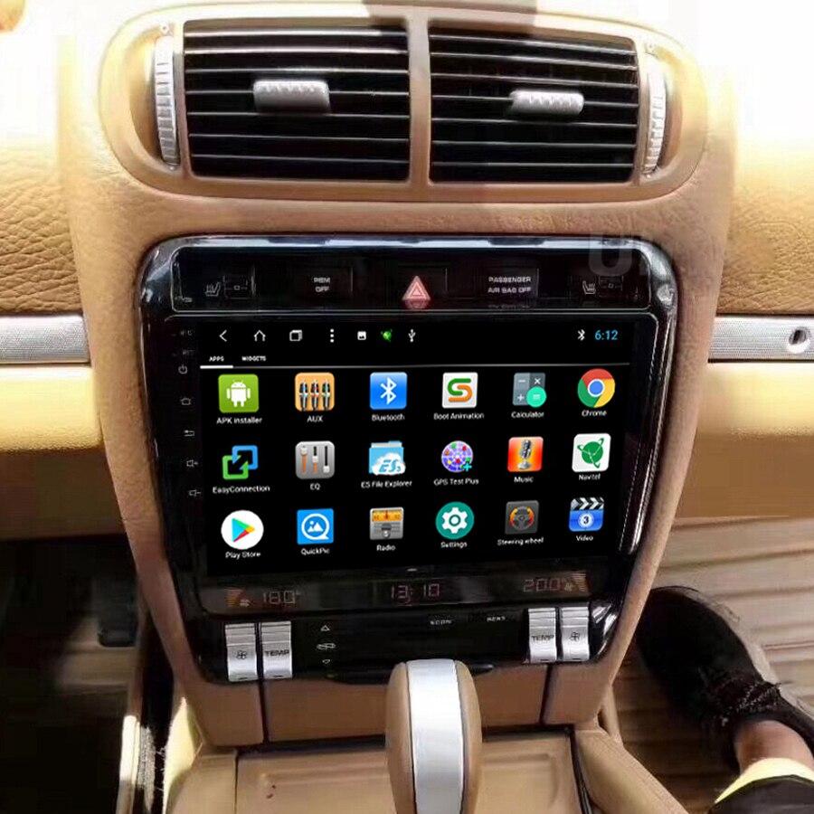 Gravador de rádio para carro, para porsche cayenne 2002-2010, android 10, gps, multimídia, bluetooth, navegação estéreo