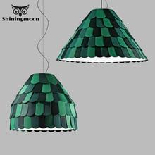 цена на Modern Art LED Green Pendant Lights Southeast Asia Classical Home Decor Pendant Lamp Restaurant Kitchen Hanging Lamps Luminaria